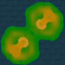 Grassy castles